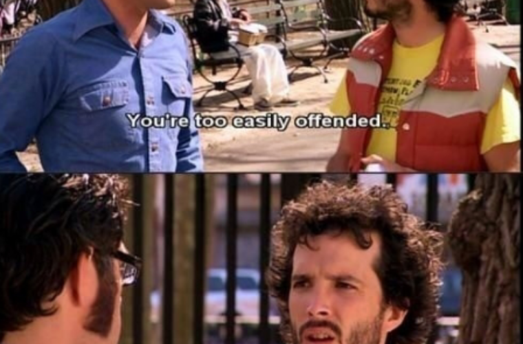 Too easily Offended