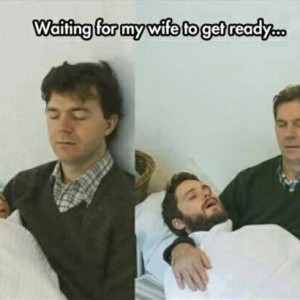 Waiting for Wife