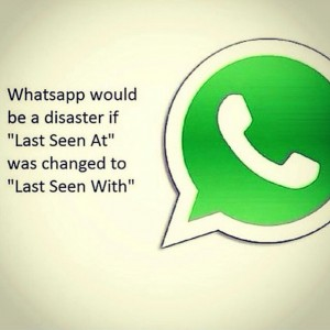Whatsapp would be a disaster