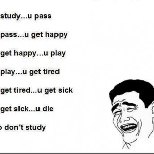 When You Study