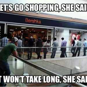 When women go shopping