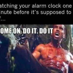 Alarm Supposed to go off
