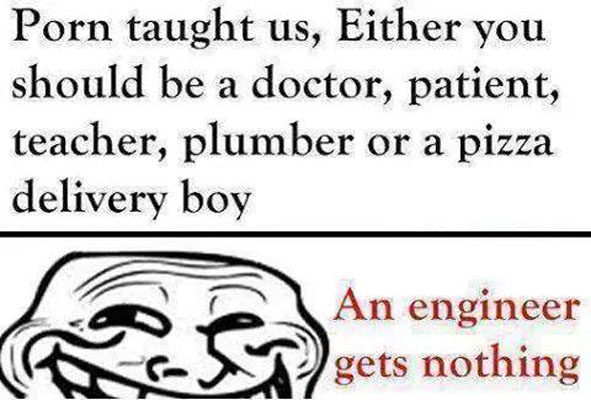 An Engineer gets nothing