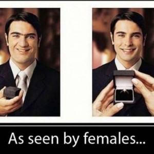 As seen by Females