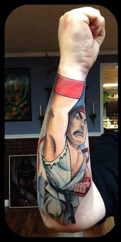 Cool arm tattoo funny pictures quotes memes funny for Funny tattoo memes
