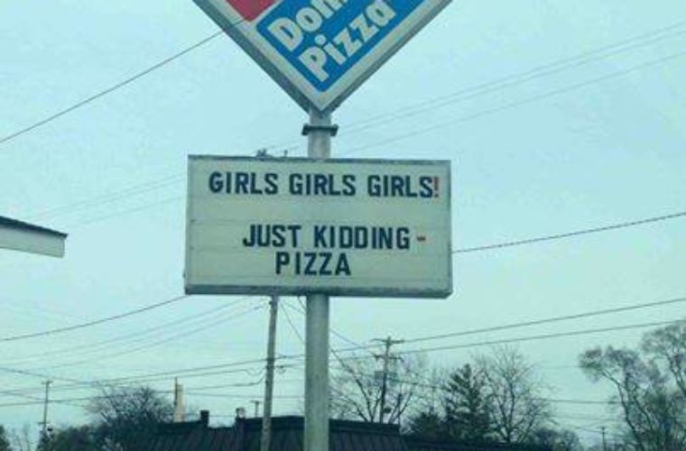 Domino's Grabbing Attention
