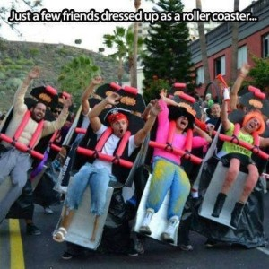 Dressed as Roller Coaster