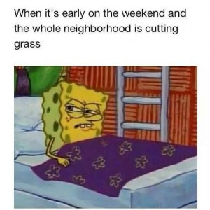 Early on the weekend