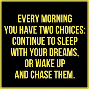 Every Morning - 2 Choices