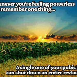 Feeling Powerless?