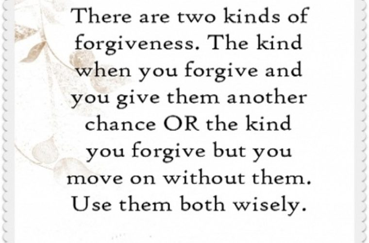 Forgivness Quote