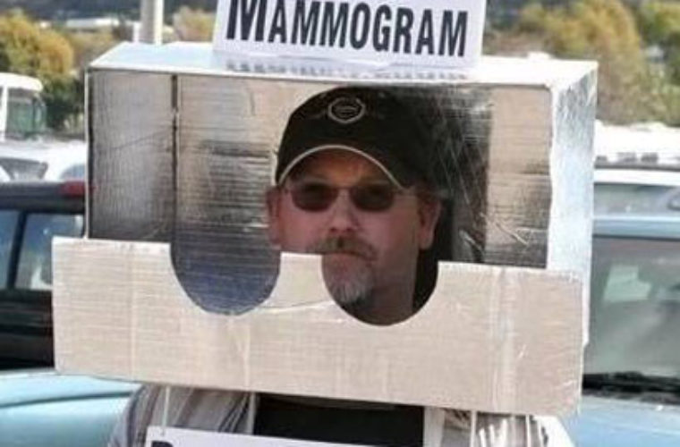 Free Mammogram 760x500 free mammogram funny pictures, quotes, memes, funny images, funny