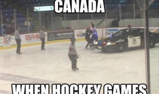 Hockey Games in Canada