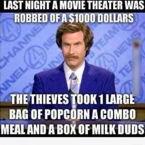 Movie Theatre robbed