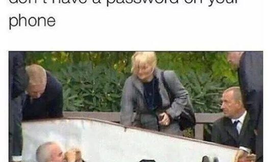 No Password on your phone