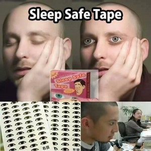 Sleep Safe tape