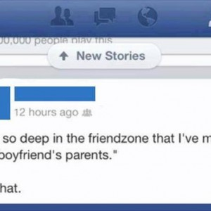 So deep in friendzone