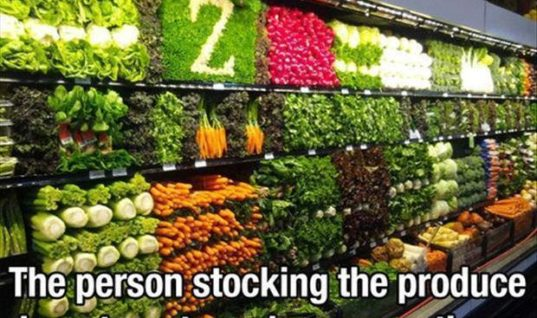 Stocking Veggies