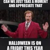 This year's Halloween