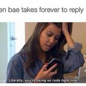 Bae takes long to reply
