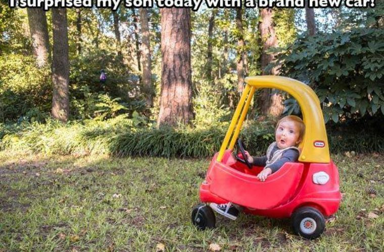Brand New Car for son