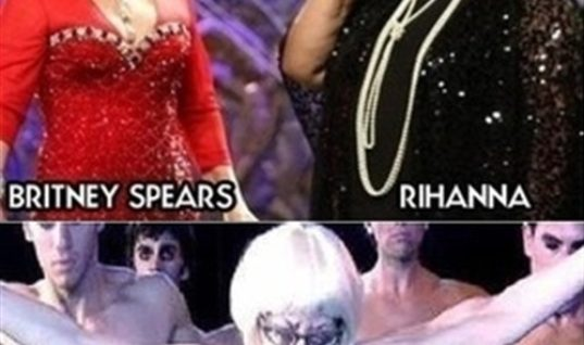 Britney Spears VS Rihanna and Lady GAGA