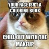 Chill with the make-up