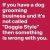 Dog Grooming Business