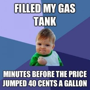 Filled My Gas Tank
