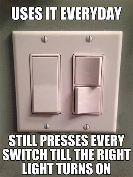 Forgetting Switches