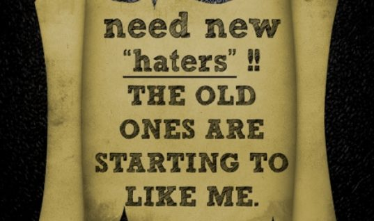 Haters Quote