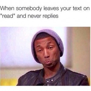 Never Replies!