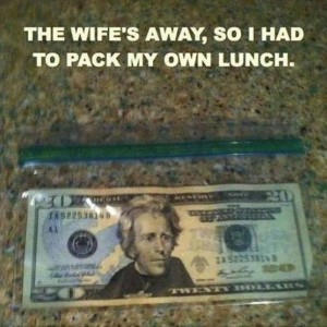 Packing my lunch