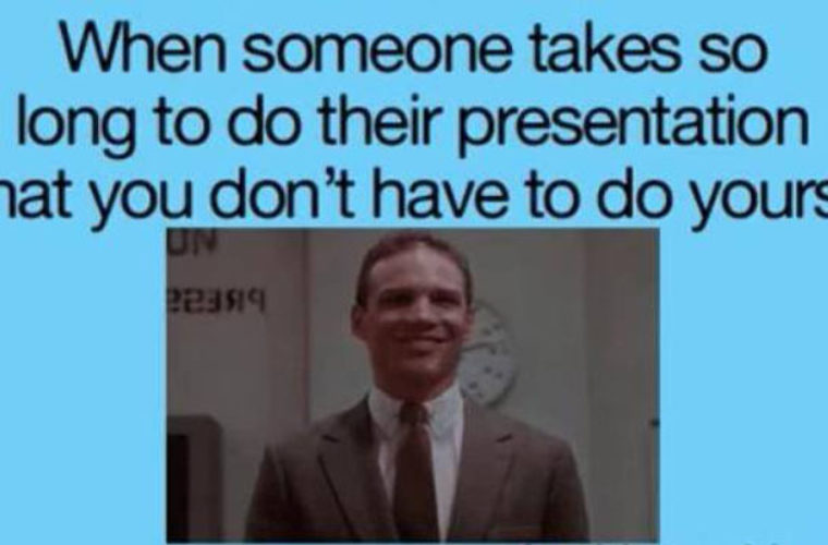 Presentation is long