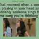 Someone sings your song