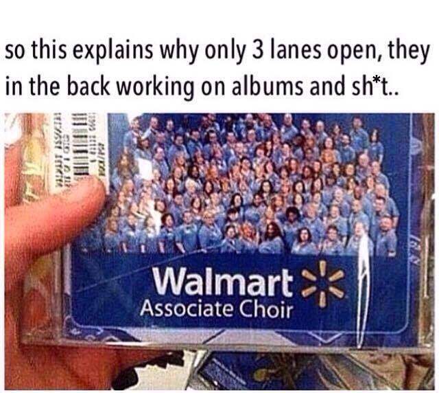 That Explains Waiting Queues At Walmart Funny Pictures Quotes