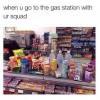 Visitng Gas station
