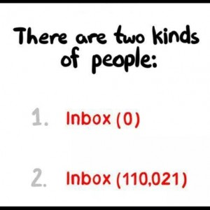 2 Kinds of Inbox people..