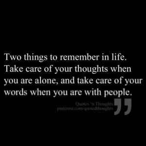 2 Things to remember