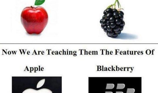 Apple n Blackberry