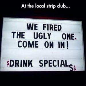 At the local Strip Club