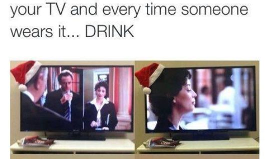 Christmas Drinking Game