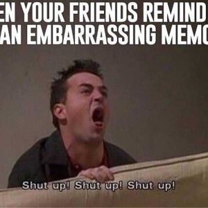 Embarrassing memory