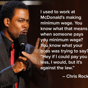 Fact about minimum wage