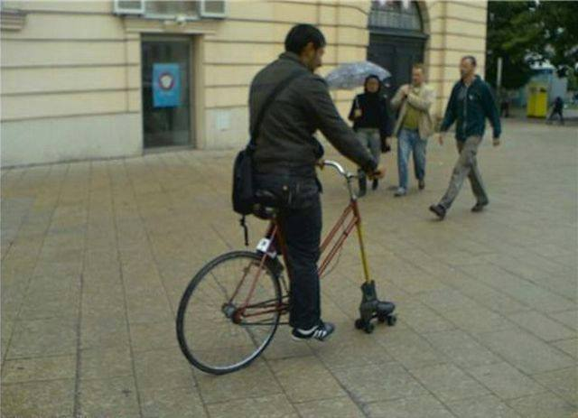 Ghetto Fixing a Cycle
