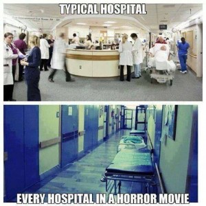 Horror Movie Hospitals