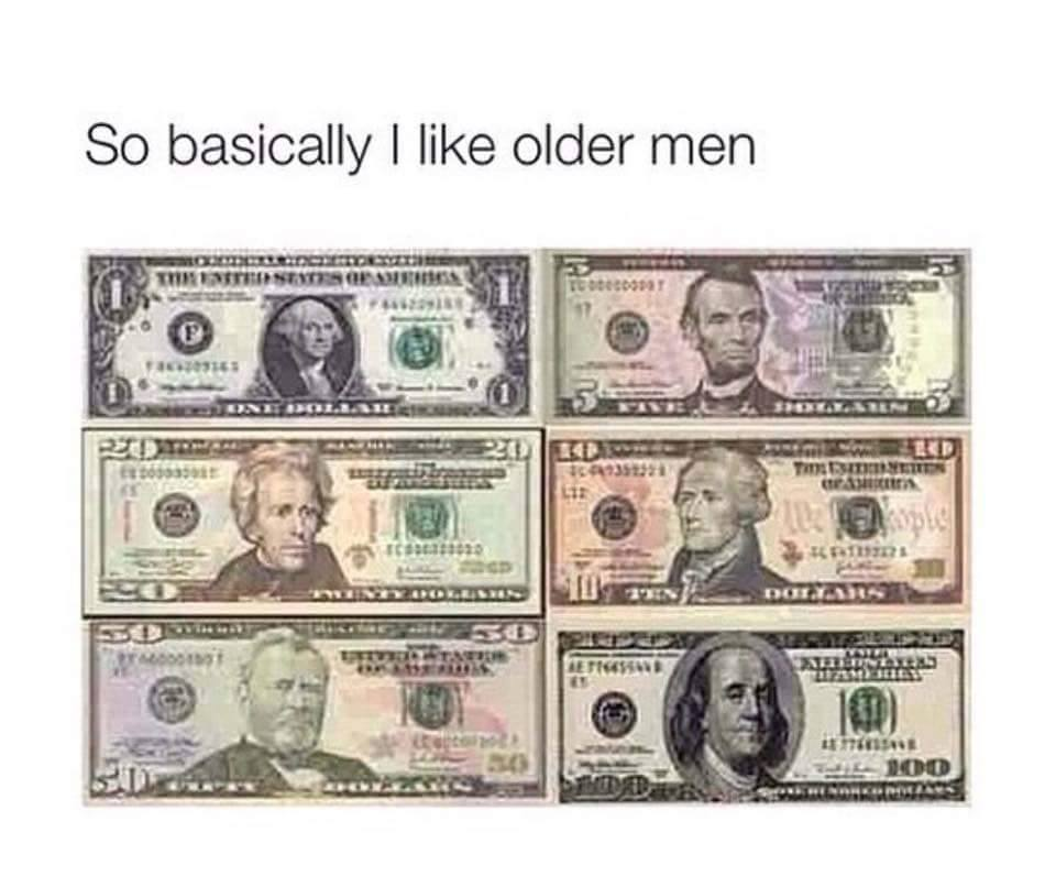 Men who like older men