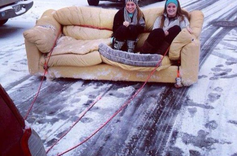 Ice Skee Sofa