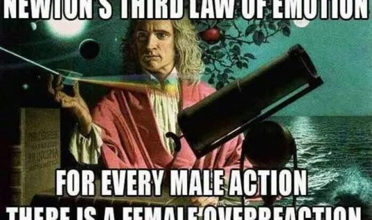 Newton's 3rd Emotion Law