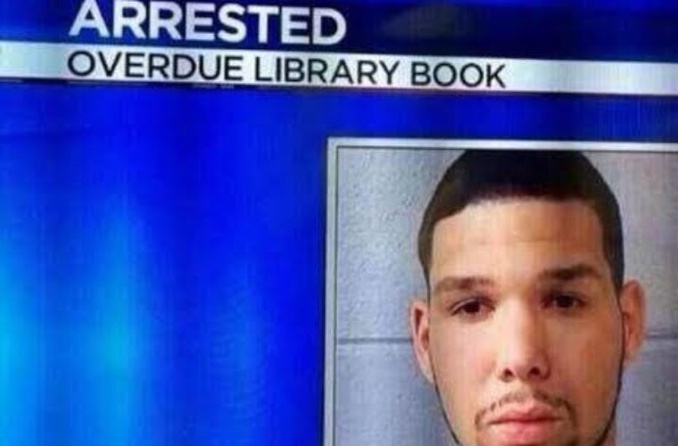 Overdue Library Book